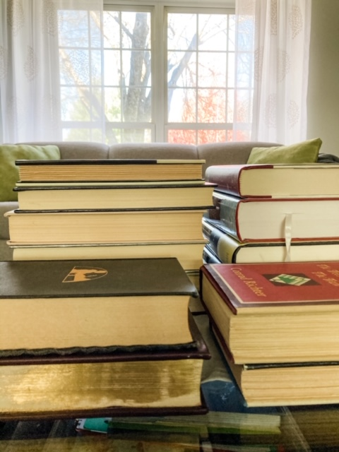 Go to your bookshelf for help with writing the first line of your memoir.